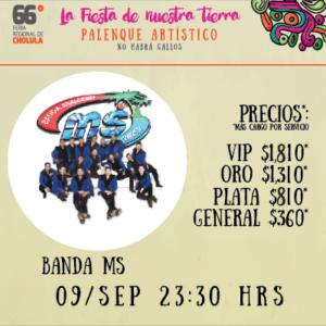 BANDA MS 66 FERIA DE CHOLULA