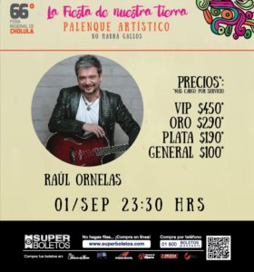 RAUL ORNELAS 66 FERIA DE CHOLULA