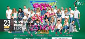 90s pop tour Puebla 23 de noviembre Acrópolis