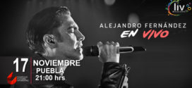 Alejandro Fernández en Puebla 17 de noviembre Complejo Cultural Universitario