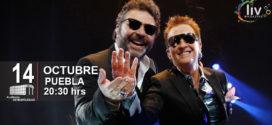 Emmanuel & Mijares en Puebla 14 de octubre Auditorio Metropolitano.