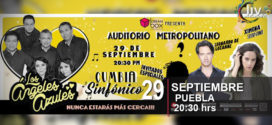 Los angeles azules en Puebla 29 de septiembre Auditorio Metropolitano