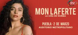 Mon Laferte en Puebla 2 de marzo Auditorio Metropolitano