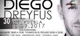 Diego Dreyfus en Puebla 30 de Septiembre Teatro del CCU