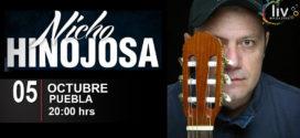 Nicho Hinojosa en Puebla 5 de octubre Teatro principal