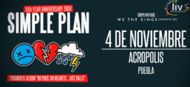 Simple Plan en Puebla 4 de noviembre Acrópolis