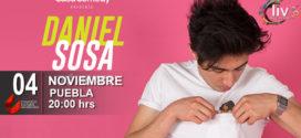 Daniel Sosa en Puebla 4 de noviembre CCU BUAP