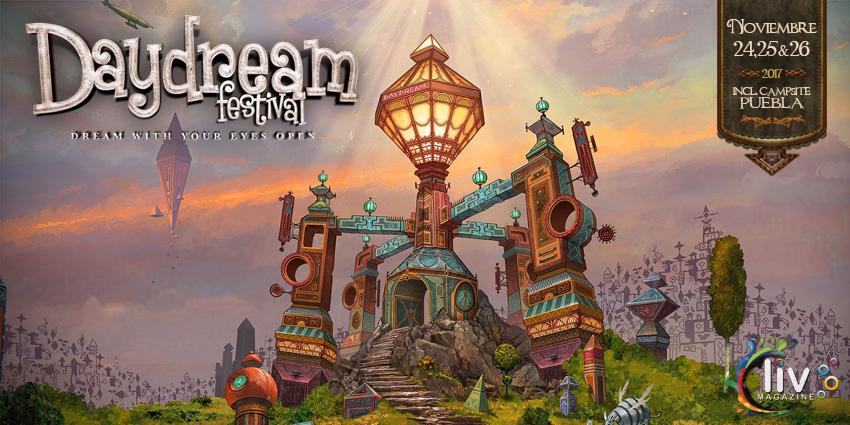 Daydream en Puebla 24,25,26 de noviembre Los Fuertes