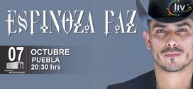 Espinoza Paz en Puebla 7 de octubre Auditorio Metropolitano