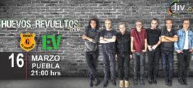 Hombres G y Enanitos Verdes Huevos Revueltos Tour en Puebla 16 de marzo Centro Expositor