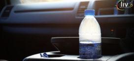 Razones por las cuales NO debes dejar botellas de agua en el auto cuando hace sol