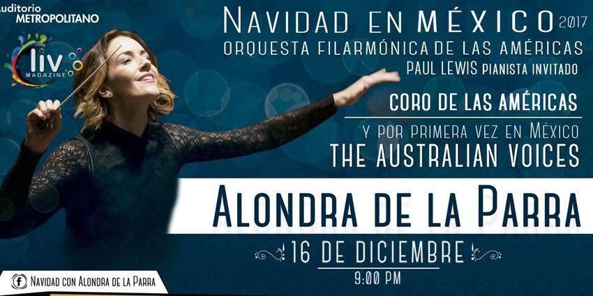 Alondra de la Parra en Puebla 16 de diciembre Auditorio Metropolitano