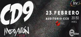 CD9 en Puebla Modo Avion Tour 23 de febrero CCU BUAP