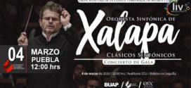 Orquesta Sinfonica de Xalapa en Puebla 4 de marzo CCU BUAP