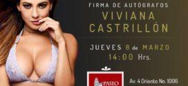 """""""La sexy playmate colombiana Viviana Castrillón llega a Puebla con Playboy México"""""""