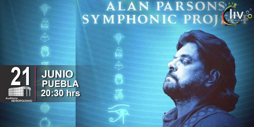THE ALAN PARSONS PROJECT en Puebla 21 de junio Auditorio Metropolitano
