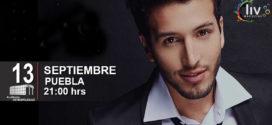 Sebastian Yatra en Puebla 13 de septiembre Auditorio Metropolitano