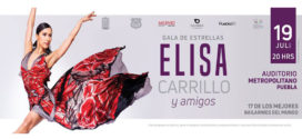 Elisa Carrillo y Amigos en Puebla 19 de julio Auditorio Metropolitano