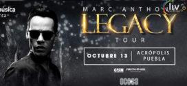 Marc Anthony en Puebla 13 octubre Acrópolis