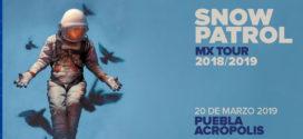 Snow Patrol en Puebla 20 de marzo Acrópolis