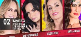 Obra DIVINAS en Puebla 02 de marzo Teatro Principal