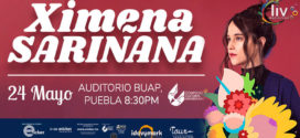 Ximena Sariñana en Puebla 24 de mayo CCU BUAP