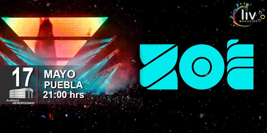 Zoe en Puebla 17 de mayo Auditorio Metropolitano
