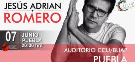 Jesus Adrian Romero en Puebla 7 de junio Auditorio del CCU BUAP