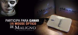 Gana un Mouse óptico de la película «Maligno»