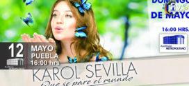Karol Sevilla en Puebla 12 de mayo Auditorio Metropolitano