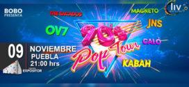 90´s Pop Tour en Puebla 09 de noviembre Centro Expositor