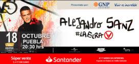 Alejandro Sanz en Puebla 18 de octubre 2019