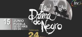 Obra La Dama de Negro 15 de junio CCU BUAP