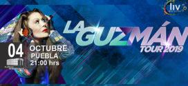 La Guzman Tour en Puebla 4 de octubre Auditorio Metropolitano