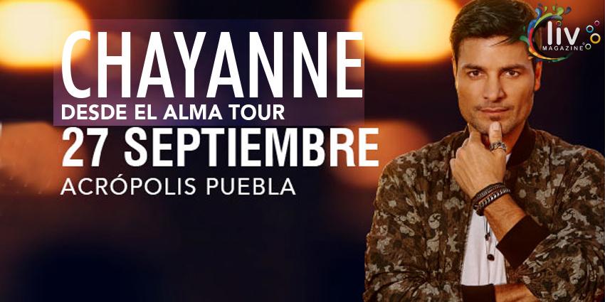 Chayanne en Puebla  27 de septiembre Acrópolis