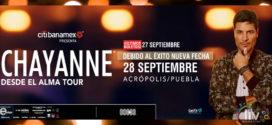 Chayanne en Puebla  27& 28 de septiembre Acrópolis