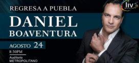 Daniel Boaventura en Puebla 24 de agosto Auditorio Metropolitano