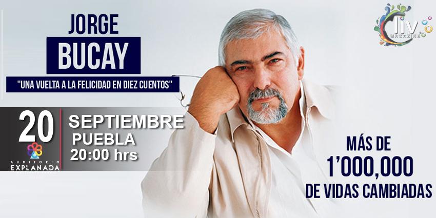 Jorge Bucay en Puebla 20 de Septiembre Auditorio Explanada Puebla