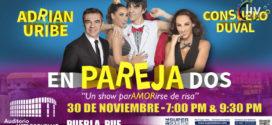 Obra Emparejados en Puebla 30 de noviembre Auditorio Metropolitano