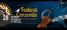 Festival Cenzontle – Los Sonidos de México 28 de junio Parque Soria Cholula