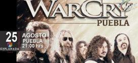 Warcry 25 de agosto Auditorio Explanada Puebla