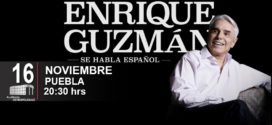 Enrique Guzmán en Puebla 16 de noviembre Auditorio Metropolitano
