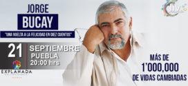 Jorge Bucay en Puebla 21 de Septiembre Auditorio Explanada Puebla
