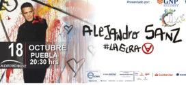 Alejandro Sanz en Puebla 18 de octubre 2019 Auditorio GNP Seguros
