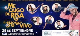 Me Caigo de Risa en Puebla 28 de septiembre Auditorio Metropolitano