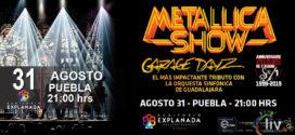 Metallica Sinfónico Agosto 31 Auditorio Explanada Puebla