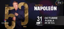 Napoleón en Puebla 31 de octubre Auditorio Metropolitano
