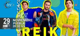 Reik en Puebla 29 de noviembre Auditorio Metropolitano