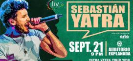 Sebastian Yatra en Puebla 21 de septiembre Auditorio Explanada