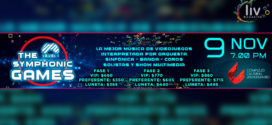 THE SYMPHONIC GAMES LEVEL 1 Noviembre 9 Auditorio del CCU